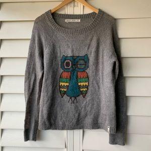 Woolrich Owl Intarsia sweater